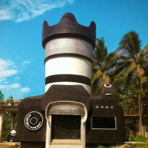 camera house borobudur