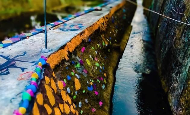 sungai sejuta warna pemuda kreatif